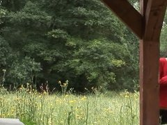 Natali Masturb Outside