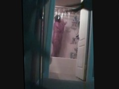 Wife caught in the shower
