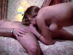 British slut Zoe Young gets fucked in a hotel room