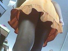 Shoe Shopper Upskirt