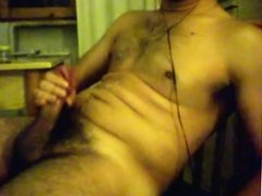 big load cumshot on cam by italian cock