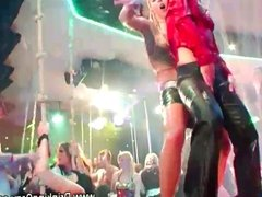 Pornstars sucking cocks at the club