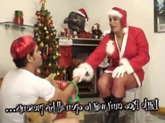 Mrs. Shemale Claus Fucked in Her Big Ass