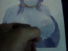 Anime Girl Bukkake 9