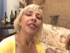 Big breasted latina ho getting anal