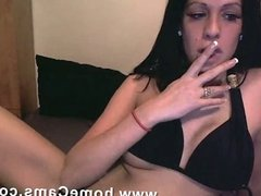 Anal webcam fingering