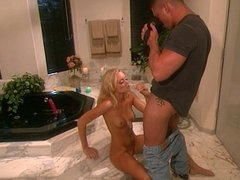 Girl plowed by sexy stud