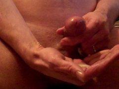 in die hand gespritzt, cum in hand
