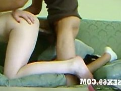 Dick Got Pussy 2 Fuck On Momma Couch During College Break