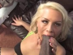 Cuckold loves to watch his white wife fucked by black bull