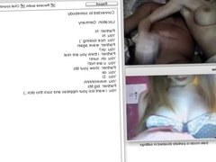 Chatroulette #76 Horny couple with a beautiful wife