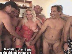 Darian's All American Tampa Bukkake Orgy!