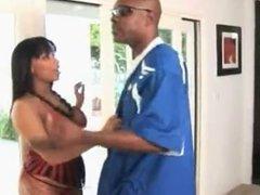 BBW Ebony Anal Action