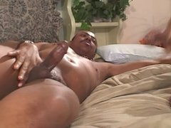 Hot ebony gets her ass pounded