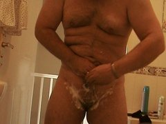 shaving my cock then having a wank.....