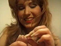 Monica nails peehole play