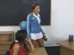 Schoolgirls love anal