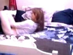 True hidden cam. Quick masturbation of my cute mom