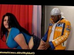 fat babe enjoys anal sex
