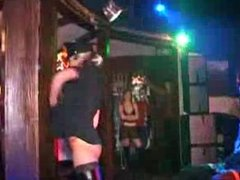 Female stripper hard on the man