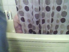 me and jen in the shower