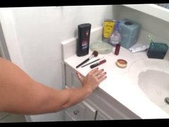Bathroom sex with Riley