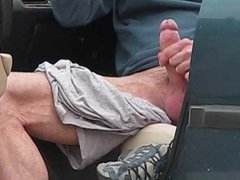 Str8 Flasher Returns to Jack his cock in PUblic