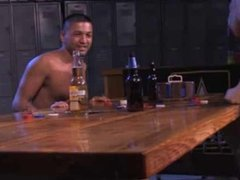 army strip poker threesome.