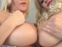 Cherry & Cherry B Busty Girly Fun