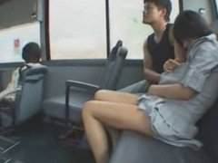In the bus??