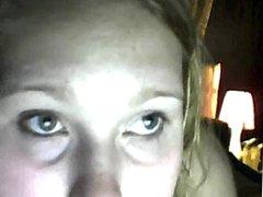 Chubby Girl on Webcam Playing
