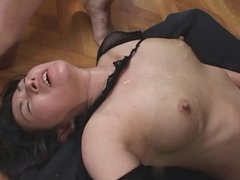 Cum on lactation tits - part  6