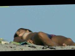 nice tits on beach