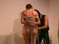 tie that slave's tits