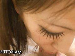 Shaved Japanese Teen Pussy Of Harumi Matsuda Penetrated