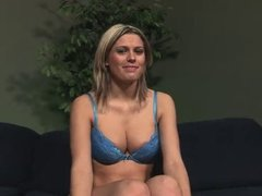 Gorgeous Blonde Gives Blowjob By TROC