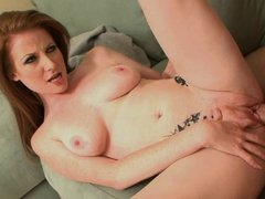 Nikki Rhodes orders a super sized cock