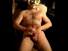 Masked Cock Play