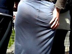 big ass c thru public