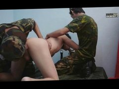 Military Twinks In Threesome