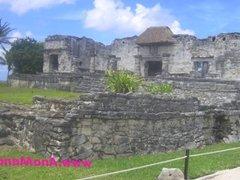 Ana Mancini at Tulum Ruins