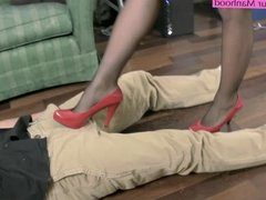 Kinky CoWorkers Part 2 Preview ballbusting face sitting feet