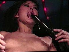 Bondage chick teased and seduced