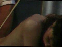 Guy massaging sexy white girl