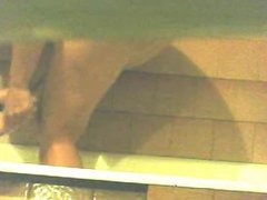 voyeur girl in shower