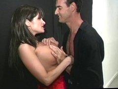 Brunette milf likes ass then gets anal
