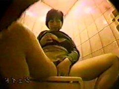 Japanese toilet masturbating hidden cam 4
