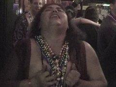 Girls flashing tits at party