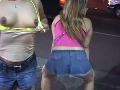 Latina girls having wild sex party