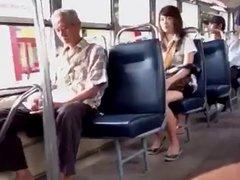 bus woman shout at me